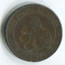 Monedas de España: GOBIERNO PROVISIONAL. 10 CÉNTIMOS 1870. Lote 140613704
