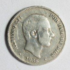 Monedas de España: ALFONSO XII 50 CENTAVOS DE PESO 1885 * FILIPINAS * PLATA. Lote 112817427
