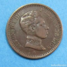 Monedas de España: ALFONSO XIII. MONEDA DE 2 CENTIMOS 1905 *05.. Lote 112858427