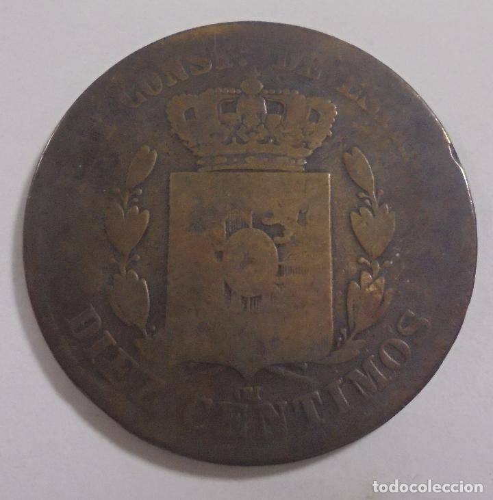 Monedas de España: MONEDA. 10 CENTIMOS. 1878. ALFONSO XII. VER - Foto 2 - 112970231
