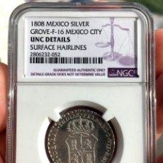 Monedas de España: ¡¡ SIN CIRCULAR !! MEDALLA EN PLATA DE LA PROCLAMACION DE FERNANDO VII EN MEXICO. 1808. Lote 113104611