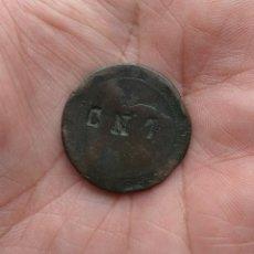 Monedas de España: MONEDA DE 10 CÉNTIMOS 1870 CON RESELLO POLÍTICO CNT. Lote 113379487
