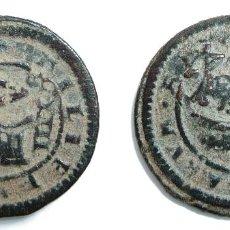 Monedas de España: FELIPE IV. RESELLO 6 MARAVEDÍS DE TOLEDO. AÑO 1641, SOBRE 4 MARAVEDÍS SEGOVIA DE 1618. Lote 114068215