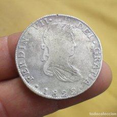 Monedas de España: 8 REALES FERNANDO VII 1822 GUANAJUATO ¡¡ ESCASA !! - PLATA. Lote 114893715