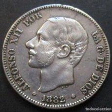 Monedas de España: 2 PESETAS 1882 *18*-*82* MS.M ALFONSO XII -PLATA-. Lote 114936323