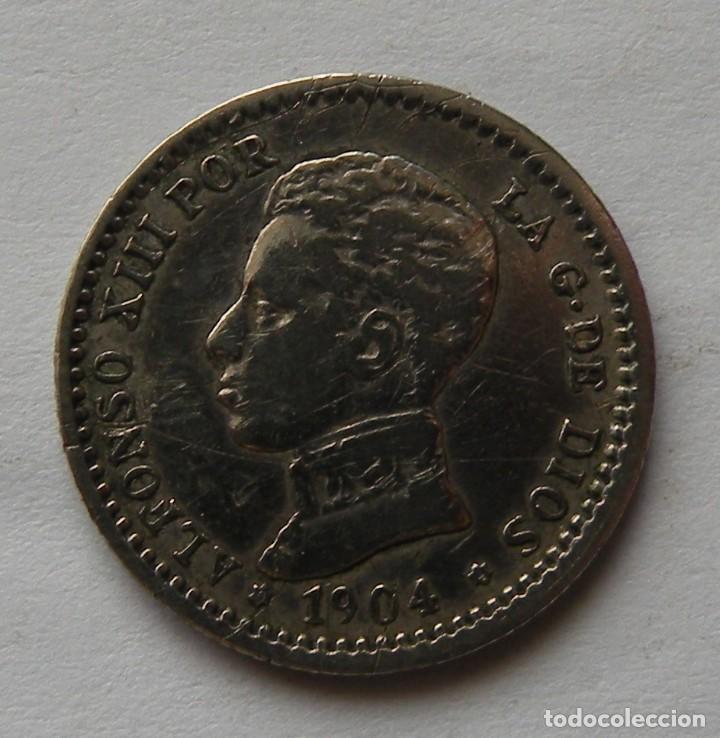 50 CTMS DE 1904 DE ALFONSO XIII (Numismática - España Modernas y Contemporáneas - De Isabel II (1.834) a Alfonso XIII (1.931))