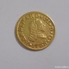 Monedas de España: MONEDA. 1/2 ESCUDO. FERNANDO VI. 1755. SEVILLA PJ. EBC. PESO: 1.7 GRAMOS. VER. Lote 115069231