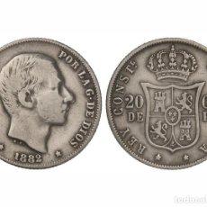 Monedas de España: ALFONSO XII. 20 CENTAVOS DE PESO. 1882. MANILA. EBC-.. Lote 115142883