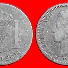 Monedas de España: 1 PESETA 1903-19-0X ALFONSO XIII ESPAÑA 7918T COMPRAS SUPERIORES 40 EUROS ENVIO GRATIS. Lote 115280519