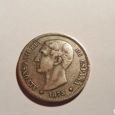 Monedas de España: MONEDA 5 PESETAS PLATA ALFONSO XII. Lote 115290418