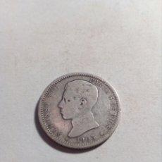Monedas de España: UNA PESETA DE PLATA ALFONSO XII. Lote 115290762