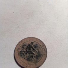 Monedas de España: DOS CÉNTIMOS ISABEL II. Lote 115293236
