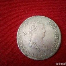 Monedas de España: 8 REALES DE FERNANDO VII. 1822. GUADALAJARA (MEXICO). Lote 115321955