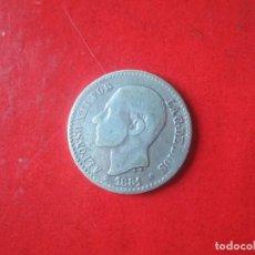 Monedas de España: ALFONSO XII. 50 CENTIMOS DE PLATA. 1881. Lote 115514747