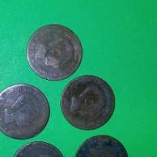 Monedas de España: 5 CENTIMOS ALFONSO XII 1877 1878 1879. Lote 115611483