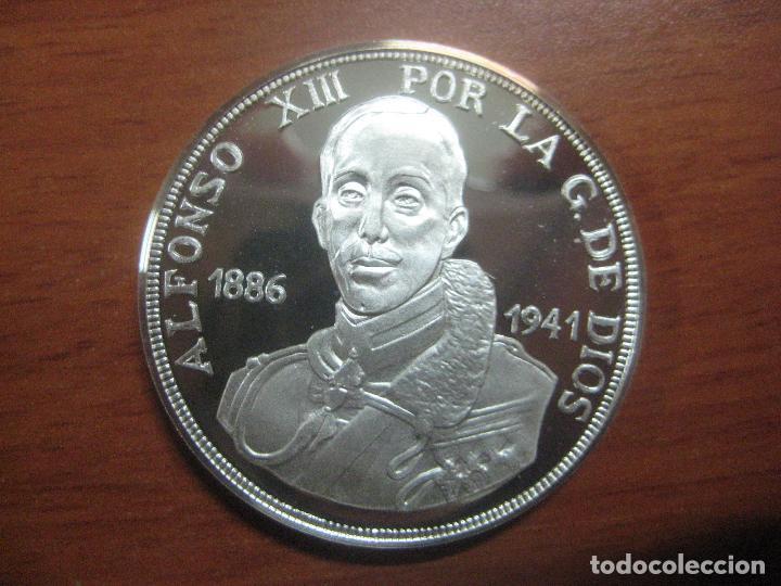 Monedas de España: PRECIOSA MONEDA DE UNA ONZA DE PLATA 999 CONMEMORATIVA DE ALFONSO XIII SOLO 500 UNID, BRILLO ESPEJO - Foto 2 - 115690311