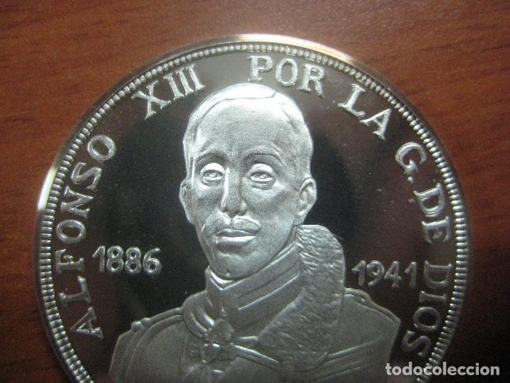 Monedas de España: PRECIOSA MONEDA DE UNA ONZA DE PLATA 999 CONMEMORATIVA DE ALFONSO XIII SOLO 500 UNID, BRILLO ESPEJO - Foto 5 - 115690311
