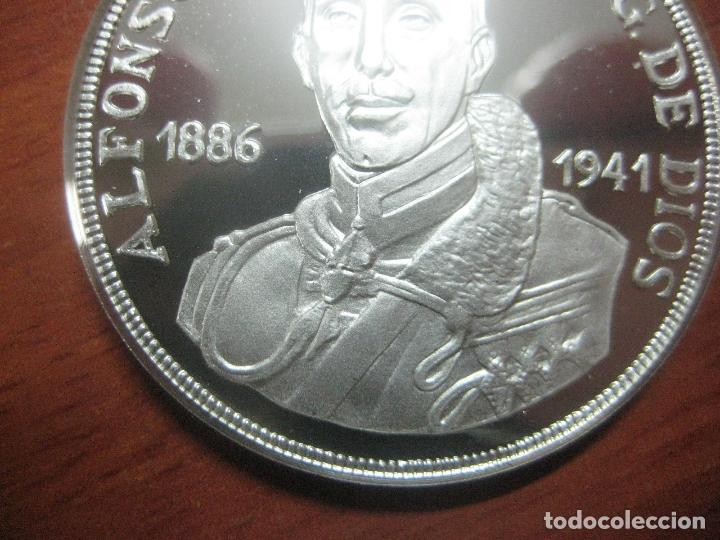 Monedas de España: PRECIOSA MONEDA DE UNA ONZA DE PLATA 999 CONMEMORATIVA DE ALFONSO XIII SOLO 500 UNID, BRILLO ESPEJO - Foto 6 - 115690311