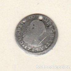 Monedas de España: CARLOS III- 1/2 REAL-1784-MEXICO. Lote 115971671