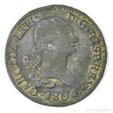 Monedas de España: CARLOS IIII 4 MARAVEDIS DE 1806 SEGOVIA CAROLUS IV . Lote 116226371