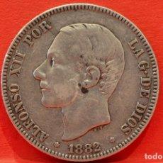 Monedas de España: 2 PESETAS 1882 *18 *82 ALFONSO XII. Lote 52014257