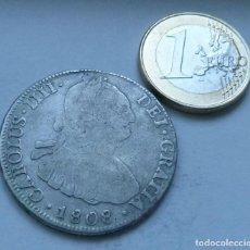 Monedas de España: MONEDA DE PLATA DE 4 REALES DE CARLOS IIII AÑO 1808 CECA DE POTOSI. Lote 116721939
