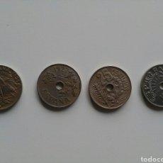 Monedas de España: LOTE DE 4 MONEDAS DE 25 CÉNTIMOS DE 1925, 1927 Y 1937. Lote 116903430