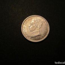 Monedas de España: MONEDA DE 50 CÉNTIMOS DE 1904*10 ALFONSO XIII SIN CIRCULAR. Lote 117045279