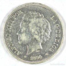 Monedas de España: 5 PESETAS 1894 ALFONSO XIII P.G. V. ESTRELLAS MUY BIEN (18 - 94) DURO PLATA SILVER MONEDA ESPAÑA. Lote 117421167