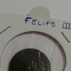 Monedas de España: FELIPE LLL 1604 RESELLO SEGOVIA. Lote 118062934