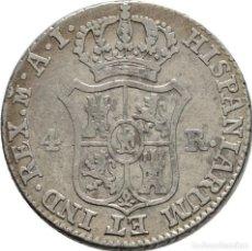 Monedas de España: ESPAÑA! NAPOLEON, 1808-1814! 4 REALES! AÑO: 1812! MADRID EBC- PLATA. Lote 118103279