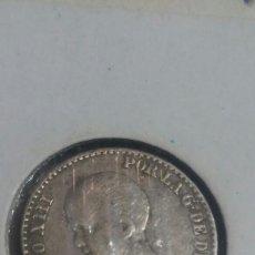Monedas de España: 50 CÉNTIMOS PLATA ALFONSO XLLL 1892 MBC ESTRELLA 92. Lote 118170220