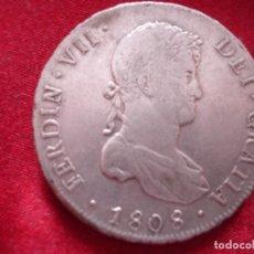 Monedas de España: 8 REALES FERNANDO VII 1808 POTOSI EBC+. Lote 118954327