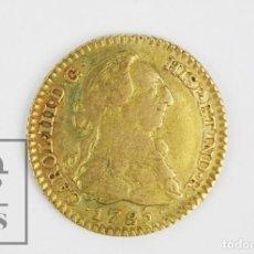 Monedas de España: MONEDA 1 ESCUDO DE ORO, ESPAÑA - CARLOS III. AÑO 1785 - DV, MADRID - CONSERVACIÓN MBC+. Lote 120530951