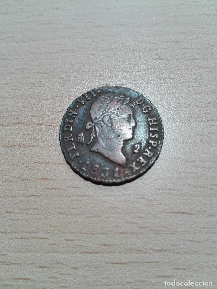 2 MARAVEDIES 1831 FERNANDO VII (Numismática - España Modernas y Contemporáneas - De Reyes Católicos (1.474) a Fernando VII (1.833))