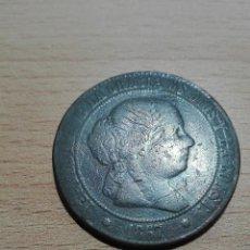 Monedas de España: 5 CÉNTIMOS DE ESCUDO 1867 ISABEL II. Lote 120942671