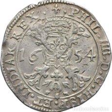 Monedas de España: FELIPE IV. EXTRAORDINARIO PATAGON. FLANDES BRUGGE/BRUJAS.1654.. Lote 122100427
