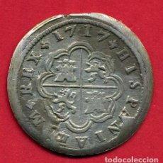 Monedas de España: MONEDA PLATA , FELIPE V , 2 REALES 1718 , MADRID , MBC++ , ORIGINAL, B15. Lote 122281871