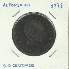 Monedas de España: ALFONSO XII 10 CENTIMOS CU 1879. Lote 122952523