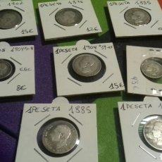Monedas de España: LOTE MONEDAS CENTENARIO. Lote 123080880