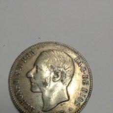 Monedas de España: MONEDA ALFONSO XII. Lote 123385631