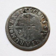 Monedas de España: 2 REALES CARLOS III 1760 SEVILLA JV. Lote 124030631