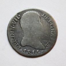 Monedas de España - 2 REALES FERNANDO VII 1814 MADRID GJ ESCASO BUSTO - 124033283