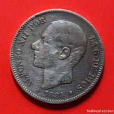 Monedas de España: 5 PESETAS 1884 (18-84) ALFONSO XII. Lote 124212971