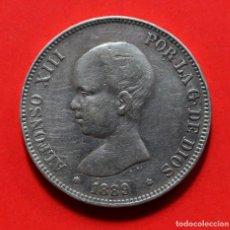 Monedas de España: 5 PESETAS 1889 (18-89) ALFONSO XIII. Lote 124215743