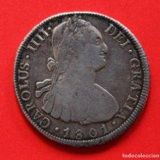 Monedas de España: 8 REALES CARLOS IV 1801 POTOSI PP. Lote 124218803