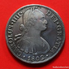 Monedas de España: 8 REALES CARLOS IV 1802 MEJICO FT. Lote 124219139