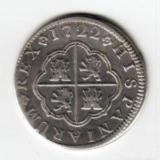 Monedas de España: ESPAÑA 2 REALES PLATA 1722 JJ CECA DE CUENCA - REY FELIPE V - TIPO CRUZ -. Lote 124517359