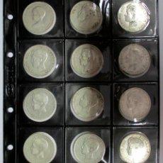Monedas de España: 12 MONEDAS DE 5 PESETAS DE PLATA DE AMADEO I Y ALFONSO XIII. LOTE-1064. Lote 124529731
