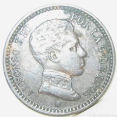 Monedas de España: 15--ESPAÑA- 2 CÉNTIMOS ALFONSO XIII- 1904 -SMV. Lote 124662259